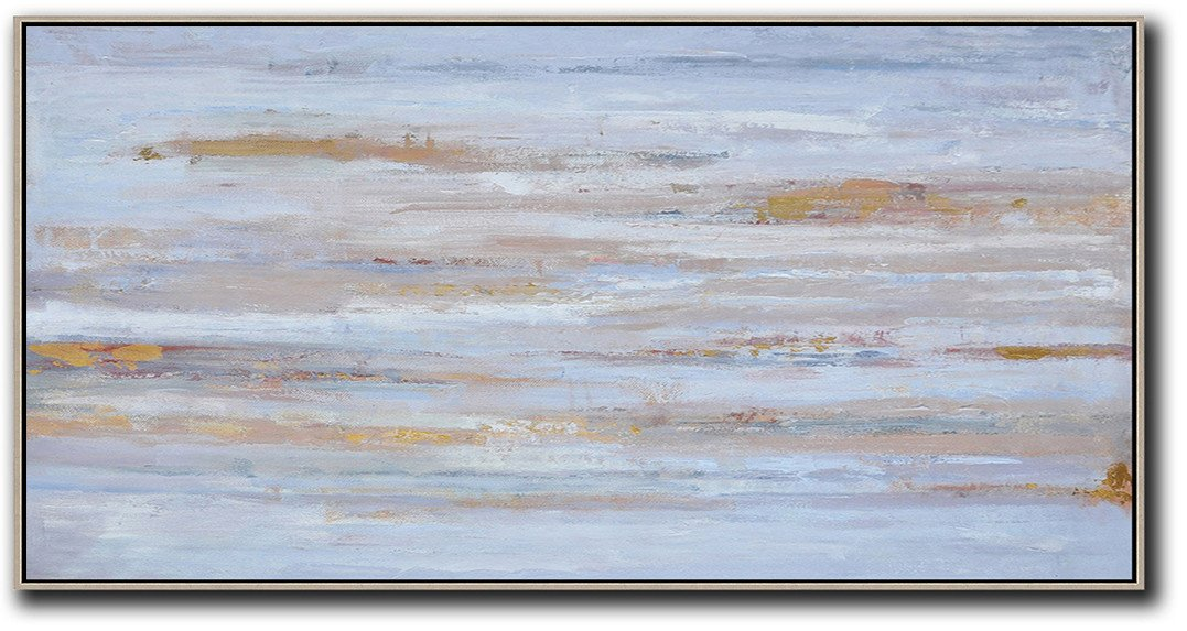 Panoramic Abstract Oil Painting #LX27D