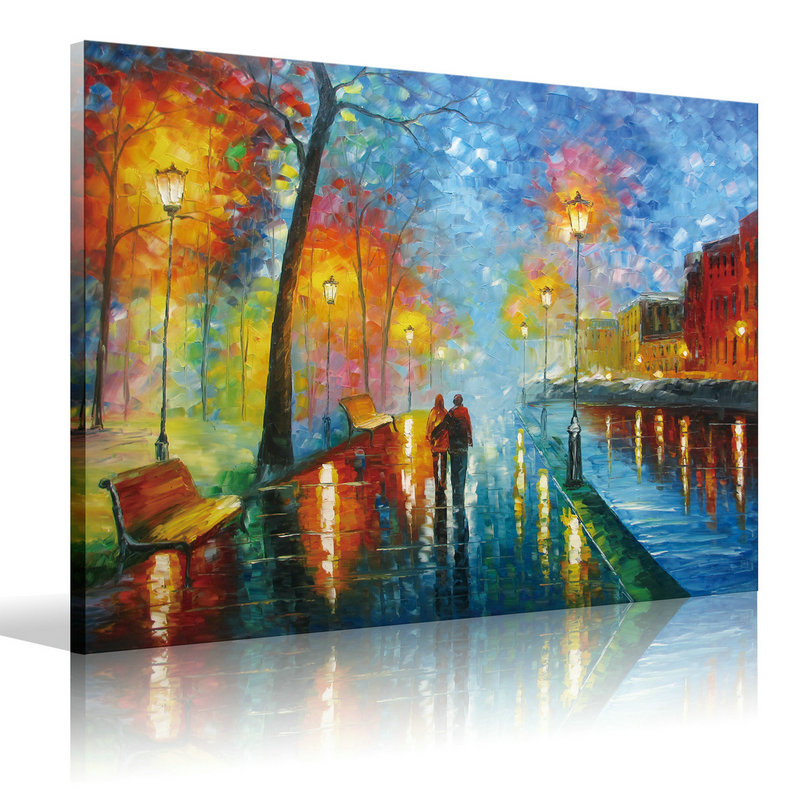 Canvas Wall Art Romantic Oil Painting On Canvas
